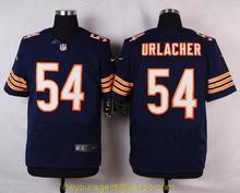 Men's free shiping A+++ quality Chicago Bears #54 Brian Urlacher Elite(China (Mainland))