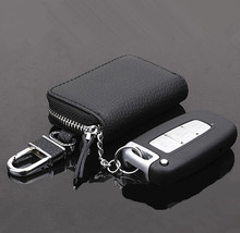 [Men's choice] New men key case Excellent PU Leather car key bag Fashion key wallet cases coin purse free shipping