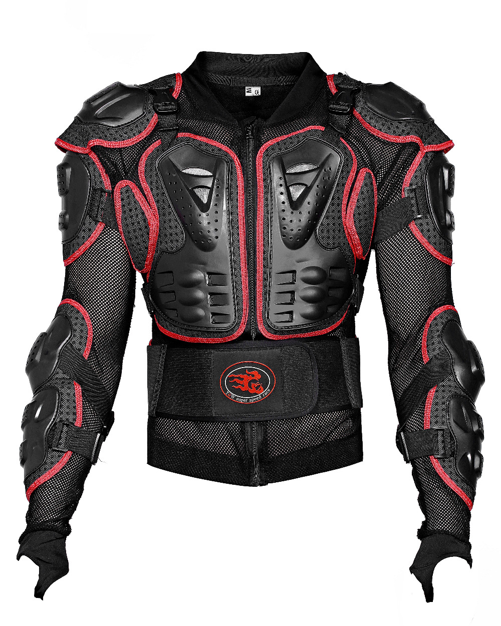 Motorcycle back protector shoulder protection chest protection jacket protective clothing(China (Mainland))