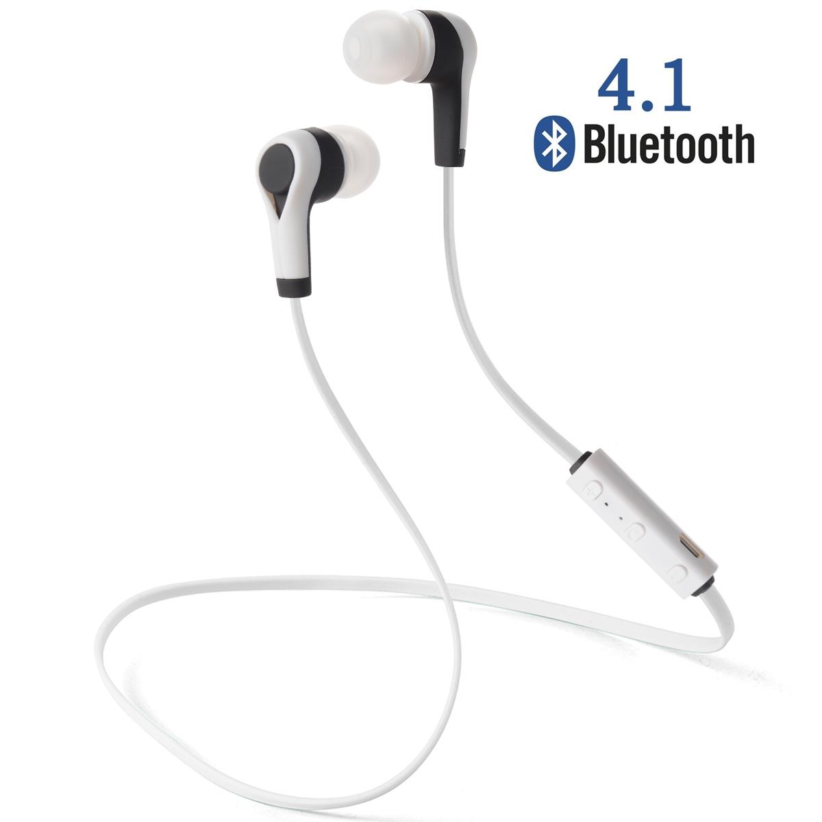 Bluetooth 4.1 Wireless Sweatproof Earbuds Headset Earphone Sport TH174(China (Mainland))
