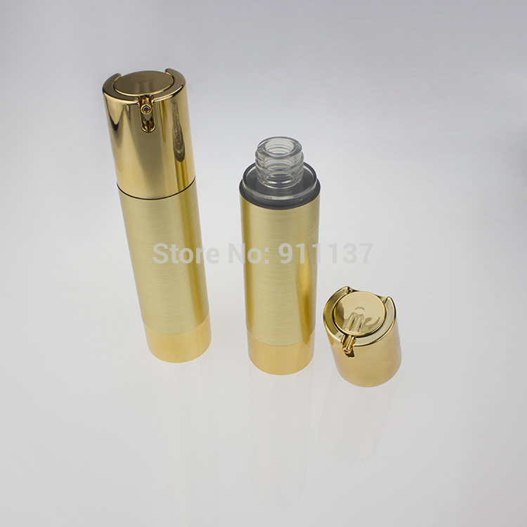 Здесь можно купить  ZA213 50g gold airless packaging for cosmetic , pp 50ml airless bottle for cosmetic , round 50g airless cosmetic container  Красота и здоровье