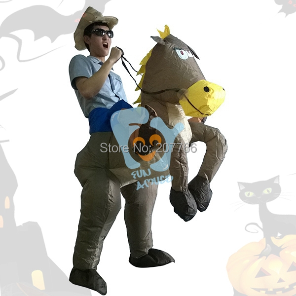 Guy Cowboy Costumes Costumes Inflatable Cowboy