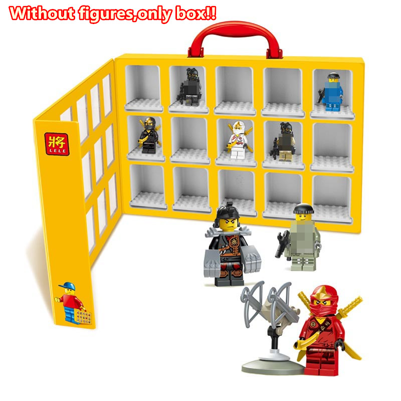 1 pc Minifigure Display Box for all kinds of Legoied Figure Kid Baby Toy Mini Figures Building Blocks Set Model Collection Brick<br><br>Aliexpress