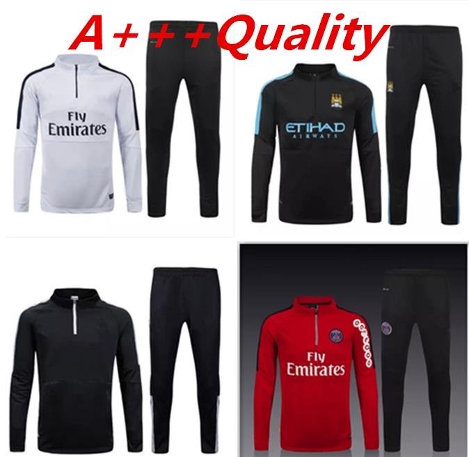 Champions League PSG Training 2015 Manchester City Tracksuit football Training training suits tracksuits Clothes(China (Mainland))