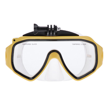 New High Quality Diving Glasses Dive Scuba Mask Mount Part for GoPro Hero 4 3 2 Camera H1E1(China (Mainland))