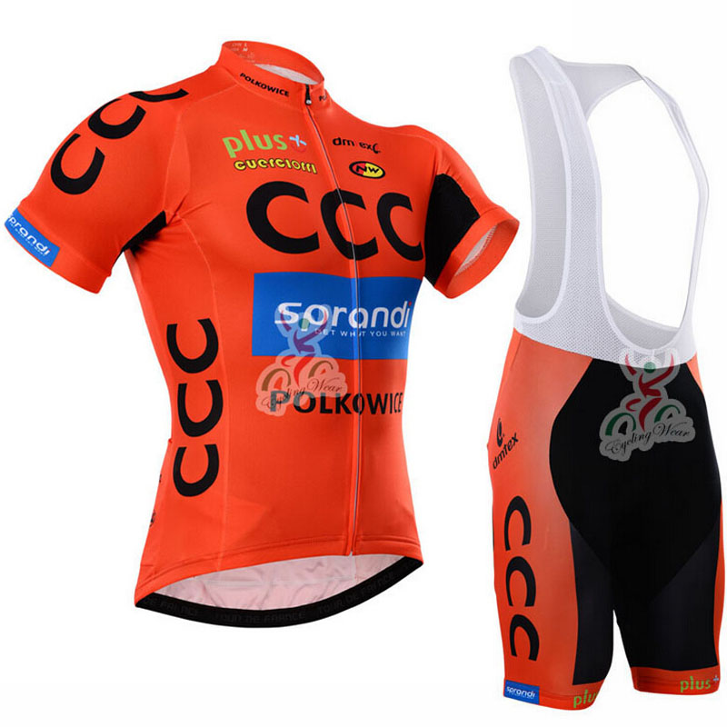 2015 CCC Cycling Jersey Colors Breathable Bike Cycling Jerseys/Quick-Dry Bicycle Cycling Clothing Cycle Sports Wear(China (Mainland))