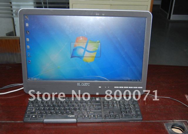21.5'' lcd all in one pc with 5 wire resistive touch Intel core   I5 M4 2130 3.1GHz