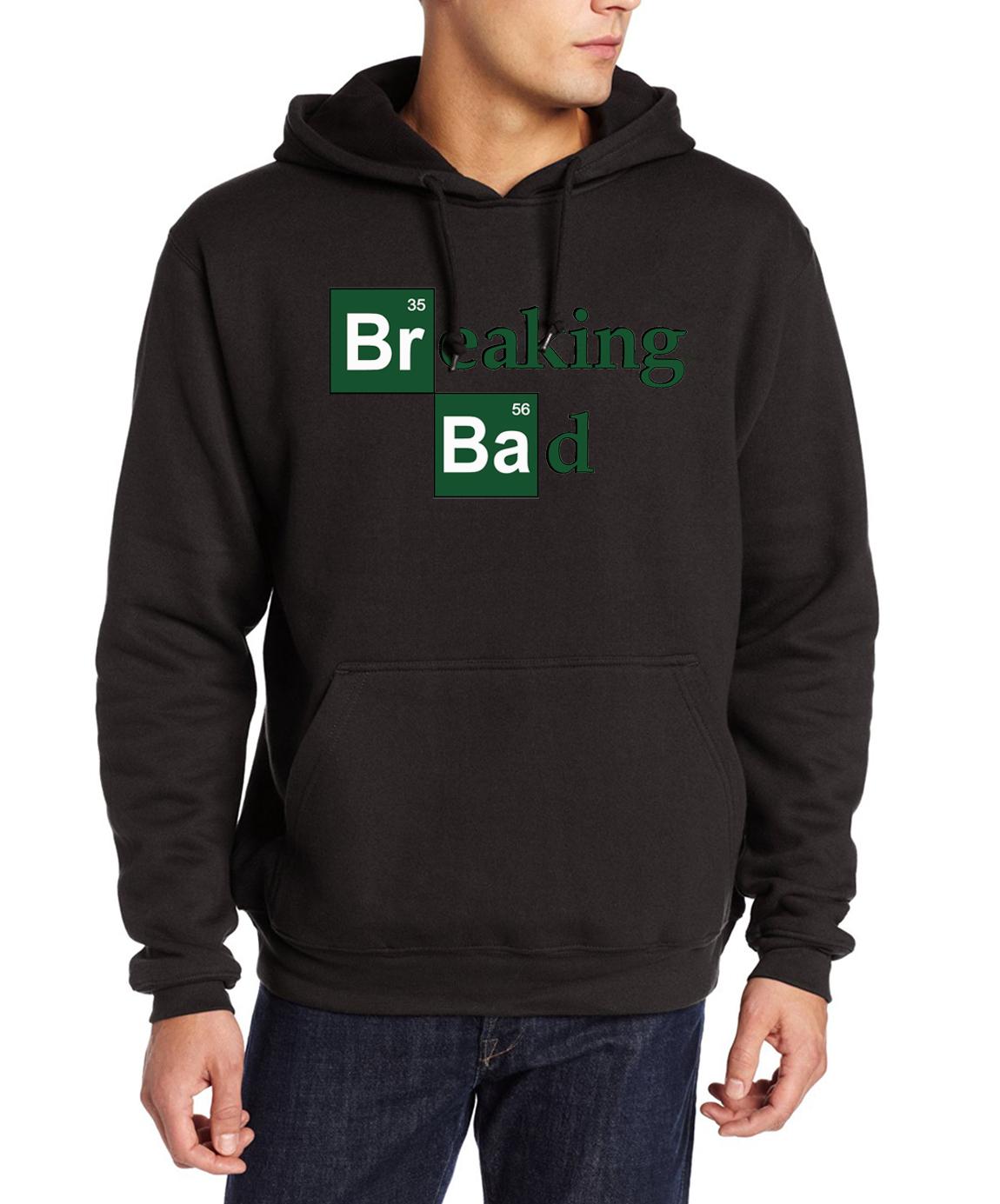 Men fashion BREAKING BAD hip-hop pullovers 2017 hipster fitness sweatshirts male new fleece hoodies harajuku brand tracksuits pp(China (Mainland))