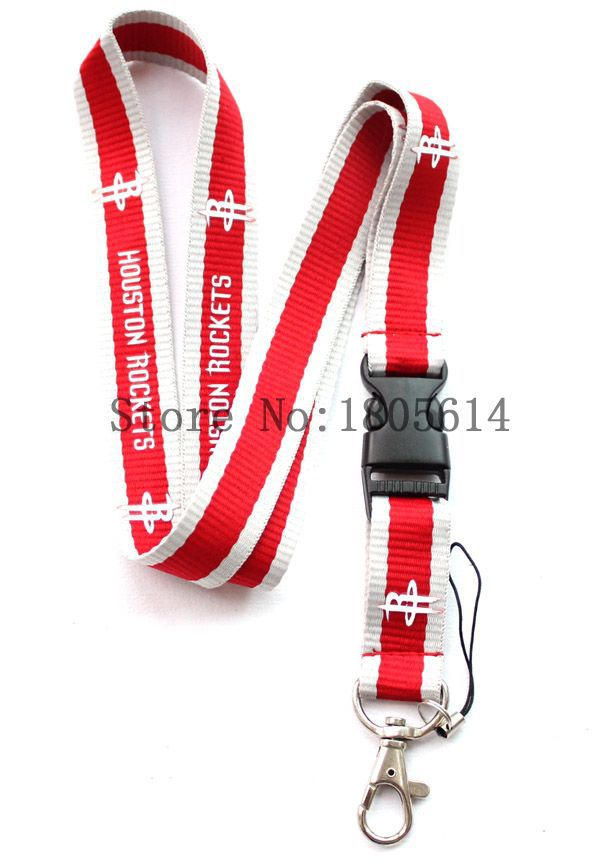 10 pcs Key chains ID Badge Cell Phone Charms Neck Strap Lanyard, Man Women Boys Girls Sport Detachable Lanyards #W0054(China (Mainland))