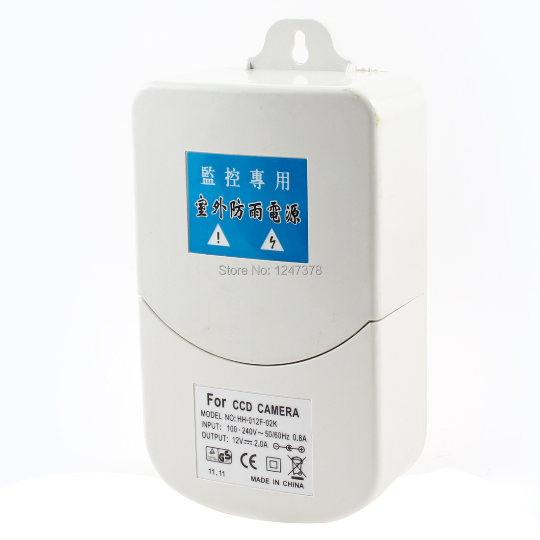 Аксессуары для видеонаблюдения DC 12V 2A 100/240vac CCD аксессуары для видеонаблюдения 12v