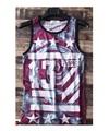 men tank tee fashion hiphop spiral vintage vest young casual loose promotion undershirt plus size 5XL