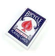 Originales naipes bicicleta versión antigua trucos de magia apoyos mágicos de color azul
