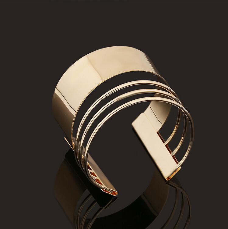 Women Fashion Bracelet gold plated Arm Bracelet Bangle ...