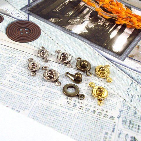 New 7-9mm Mix Size/Mix Color Button Clasp Jewelry Findings Free Shipping 157<br><br>Aliexpress