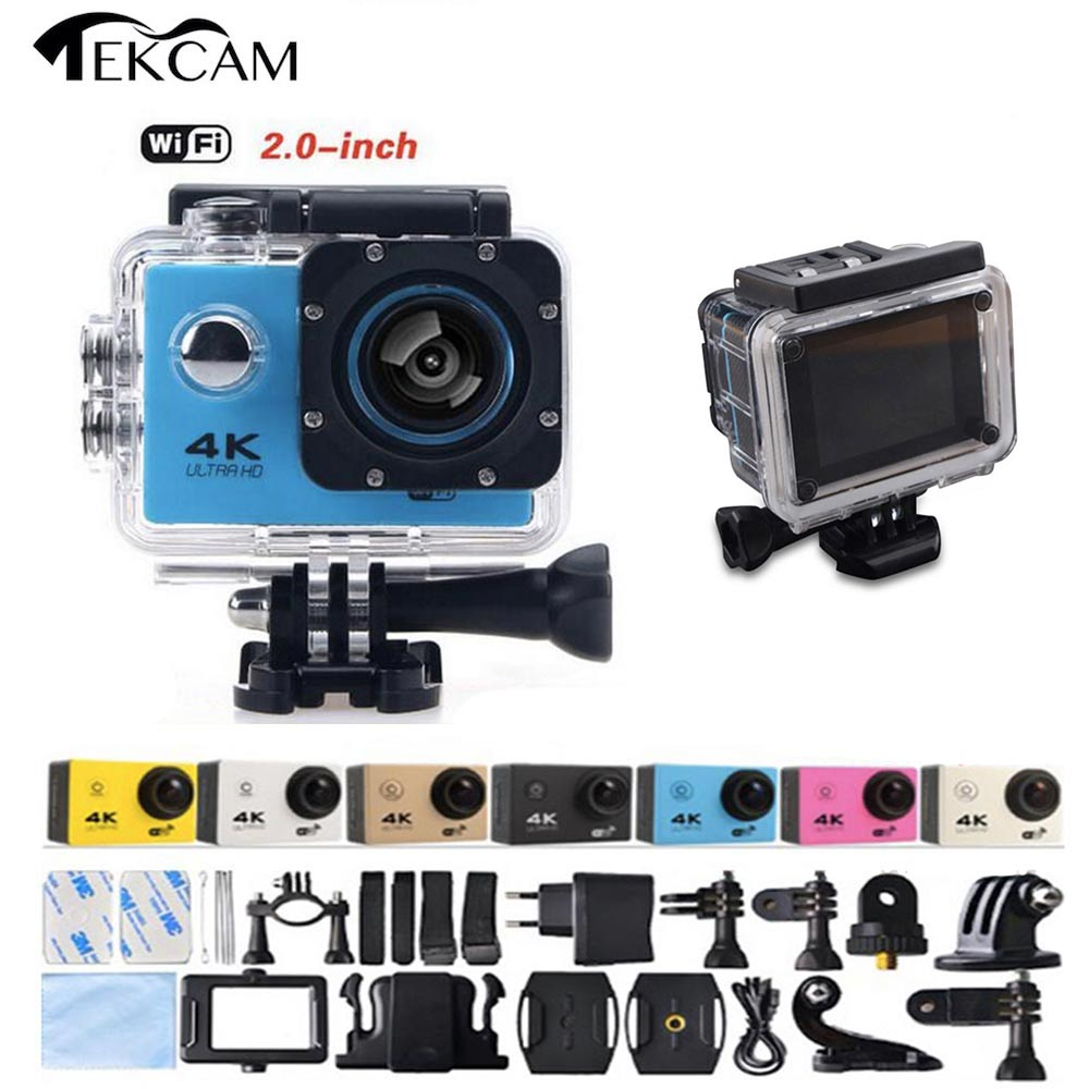 Tekcam 4K 30FPS WIFI Wireless Waterproof Sports DV 1080P Untra HD Video Action Camera as Gopro SJ4000 for Scuba Diving(China (Mainland))