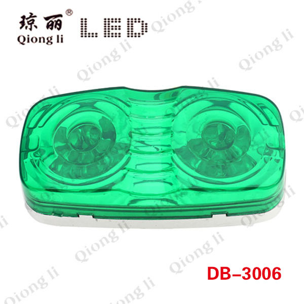Double Bulls Eyes Waterproof Led Side Light Led Lights For Cars(China (Mainland))
