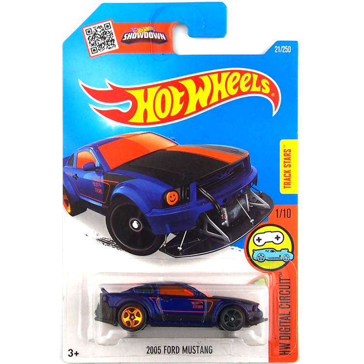Free Shipping 2016 new Hot Wheels 2005 ford mustang cars Models Metal Diecast Car Collection Kids Toys Vehicle For Children(China (Mainland))