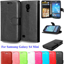Buy S4mini Cases Coque Samsung Galaxy S4 Mini I9190 Wallet Stand Flip Cover Card Holder PU Leather Case Samsung S4 Mini for $3.33 in AliExpress store