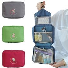 Hot Sale Women Travel Cosmetic Bag Hanging Bag High Quality Zipper Toilet Bag Toiletries Organizer Portable Waterproof Handbag