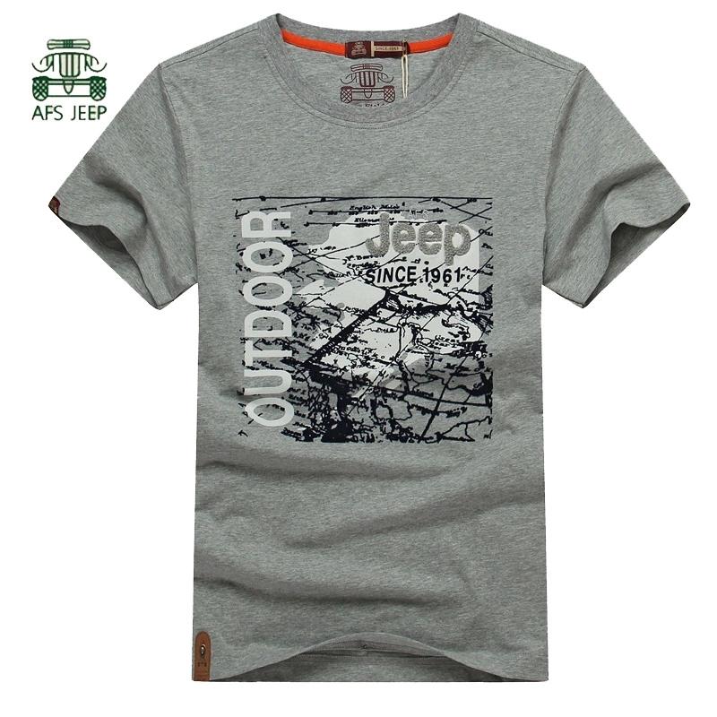 Afs Jeep 100 Cotton Men Sports T Shirt Men 39 S Fashion