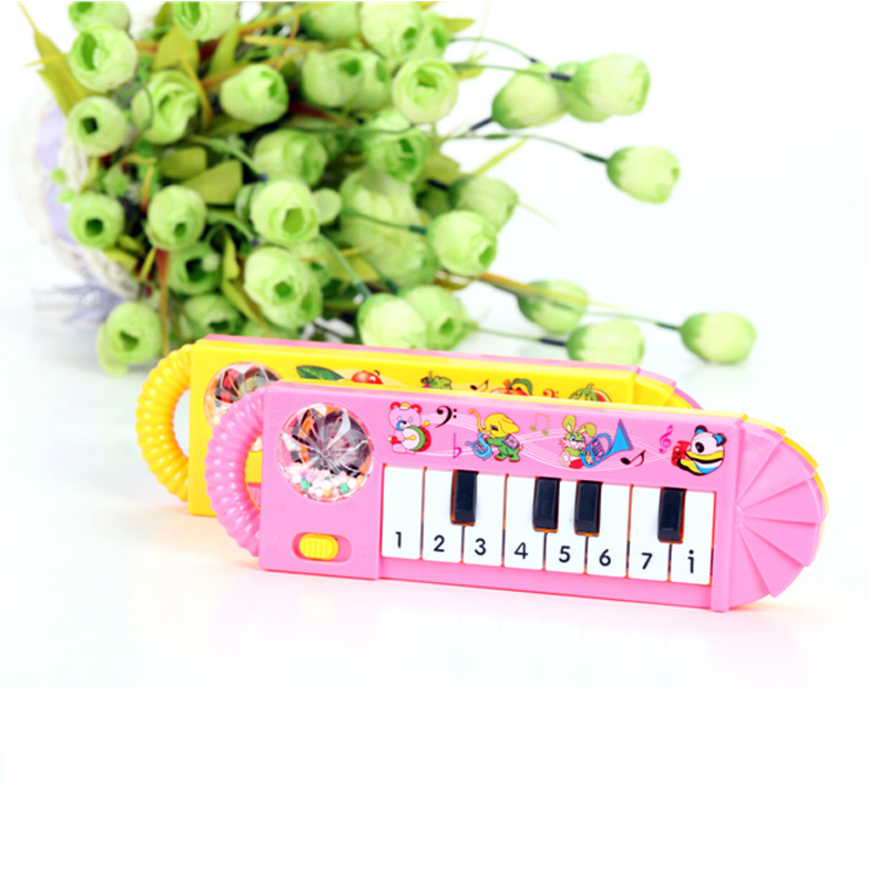 New Arrival Musical Instrument Small Rhythm Musical Toy Gift for Baby Kid Child Early Education toy Mini Electronic organ 1pcs(China (Mainland))