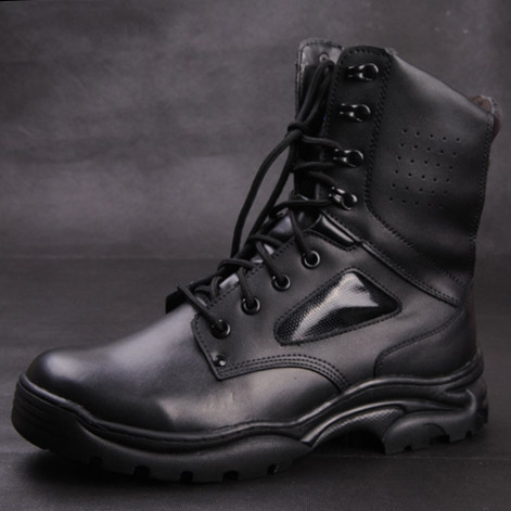 First layer cowhide male boots desert genuine leather high tooling soldier boots,army