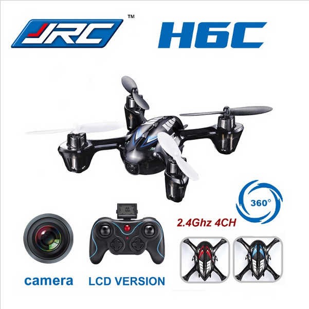 JJRC H6C UFO 2MP HD Camera Drone RC Helicopter H107C RC Aircraft 100 % original quad copter with camera quadrocopter Toy(China (Mainland))