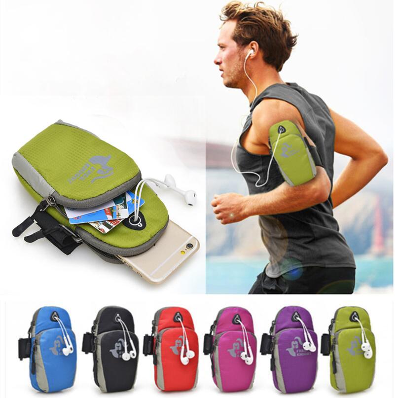 Motolora Moto G5 Plus G4 Play E3 Power M Droid Maxx 2 Turbo 2 X Force G 5 Waterproof Nylon Running Bag Sport Arm Band Case