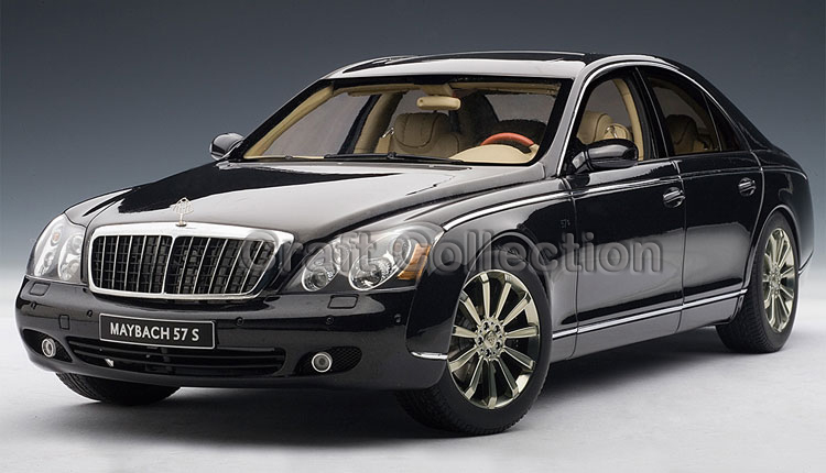 *Black 1:18 AutoArt AA Maybach 57 S Diecast Model Car Luxury Gifts Collection Mini Model Car Kits Limitied Edition(China (Mainland))