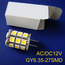 High quality AC/DC12V GY6.35 LED light,G6 LED bulb,led gy6 lamp 12v free shipping 5pcs/lot