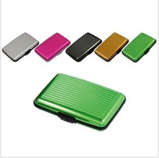 Fashion aluminum alloy credit card bag business card case  (CQ)