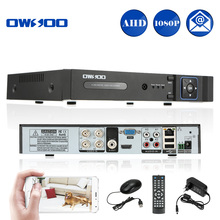 Buy OWSOO 4CH AHD DVR Recorder Surveillance Video Recorder H.264 P2P Cloud 4 Channel Digital Video Recorder CCTV AHD Camera Kit for $19.99 in AliExpress store