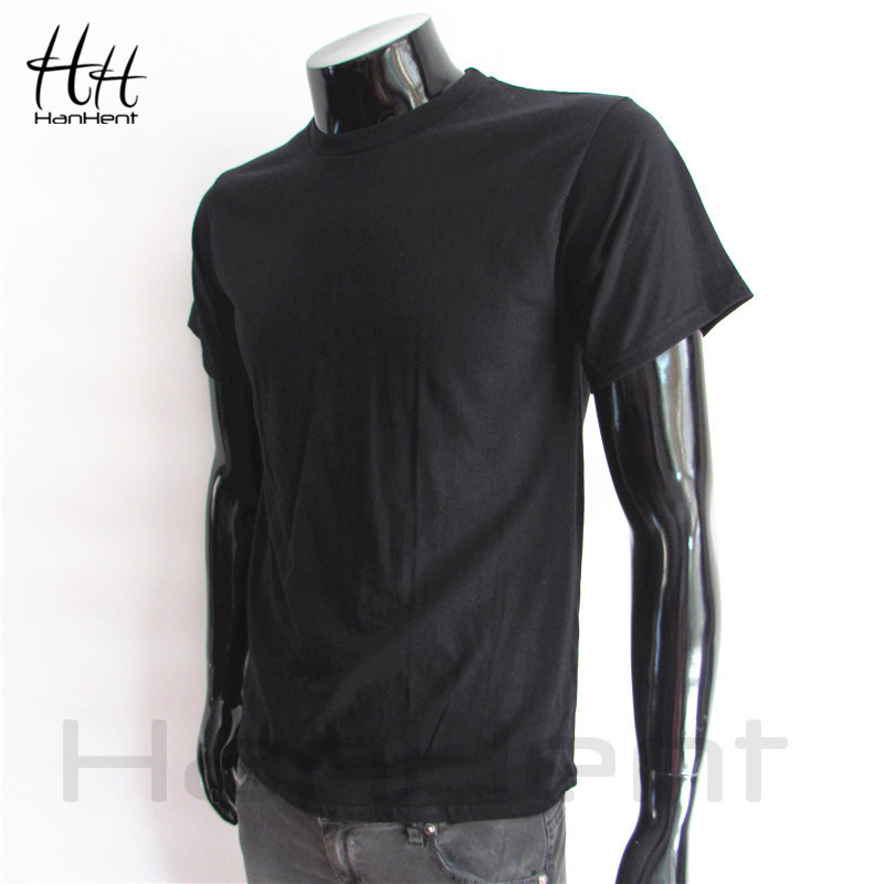Tops Tees 2015 summer fashion Men classic solid color t shirt cotton men s short sleeve