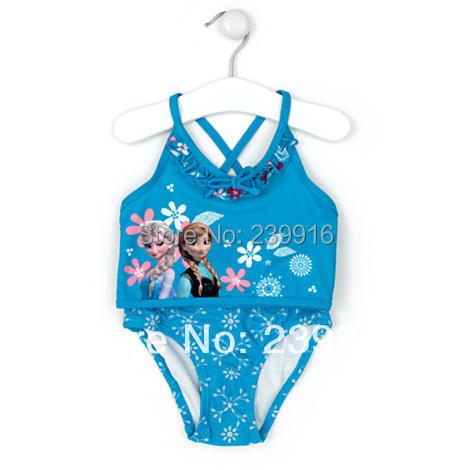 Закрытый купальник для девочек Brand new , FS02