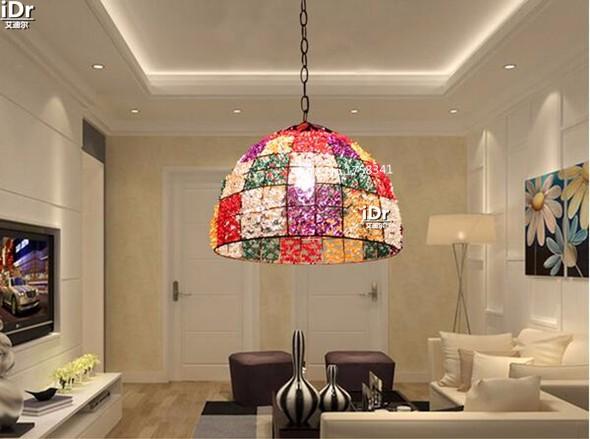Купить Творческий спальня в Европейском стиле сад антикварная лампа бар бар ресторан вход лампы Подвесные Светильники Rmy-0651