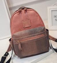 New Fashion Women Backpacks Women's PU Leather Backpacks Girl School Bag High Quality Ladies Bags Designer Women Backpack Bolsas(China (Mainland))