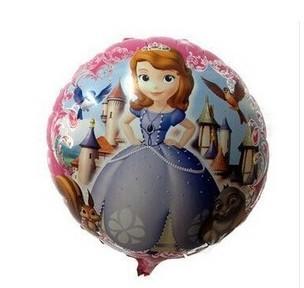 10pcs/lot Manufacturers selling 18 inch aluminum film balloon Princess Sophia wholesale balloons birthday gift(China (Mainland))