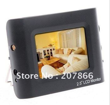 """free shipping hot offer 2.5"""" TFT LCD Portable CCTV Monitor Testing Camera Video CCTV Tester"""
