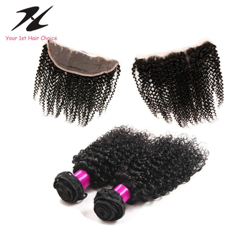 Mongolian Kinky Hair Closure 27