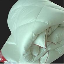 Luxury Duvet Mother-Sonquilt 95% goose down filling 30% mulberry silk 70% cotton shell duvet spring summer quilt for all season(China (Mainland))