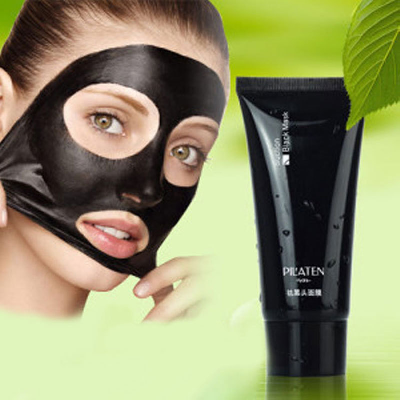2pcs Blackhead Remover,Deep Cleansing the Black head,Acne Removal,Black Mud Face Masks For Blackheads(China (Mainland))