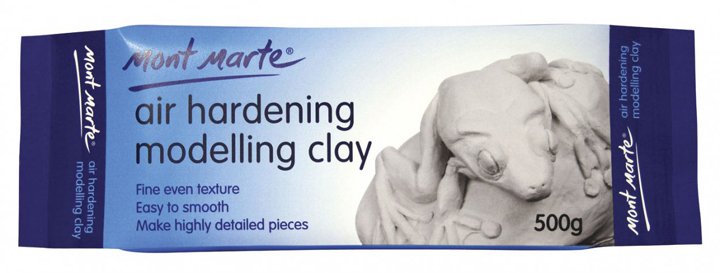 Air Hardening Modelling Clay 500g,Fine Even Texture, Easy to Smooth ,Make Highly Detailed Pieces,Professional art Shaping Clay(China (Mainland))