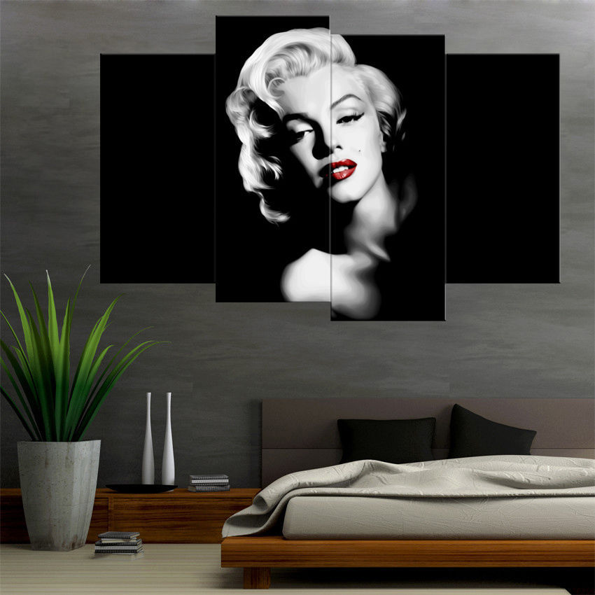 James Dean amp Marilyn Monroe Motorcycle Movie 24x36 Wood