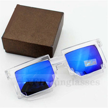 Deal With It Glasses Points Female Male Sunglasses 8 Bit Glasses Pixel Women's Men's Sun Glasses With Glass