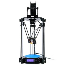 2015 NEW delta 3d printer diy kit rostock mini pro 3d printer kit with LCD Controller set w/ SD RAMPS