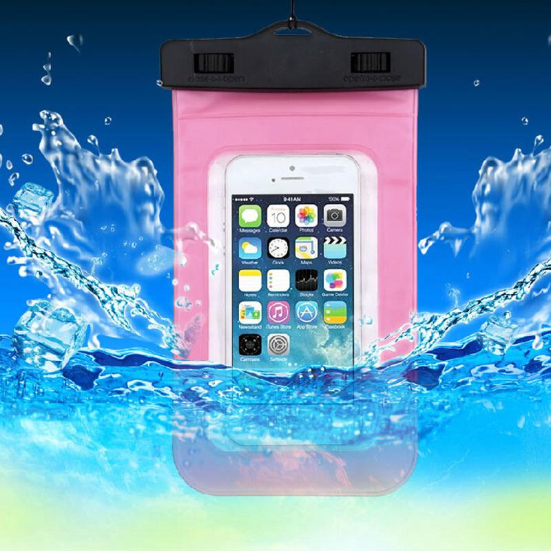 PVC Waterproof Diving Bag For Mobile Phones Underwater Pouch Case For iphone 4s/5s/6/6plus For samsung galaxy #83238(China (Mainland))