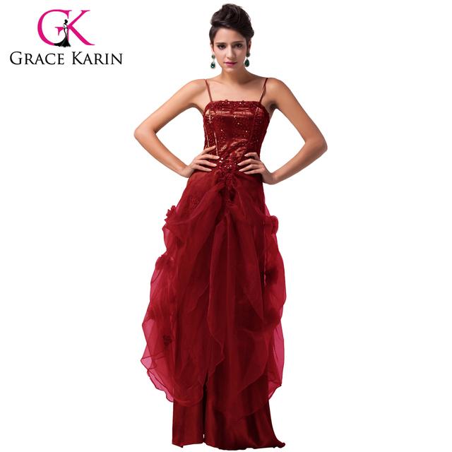 Грейс карин элегантные вечерние платья черный белый зеленый фиолетовый длинные бургундия ...