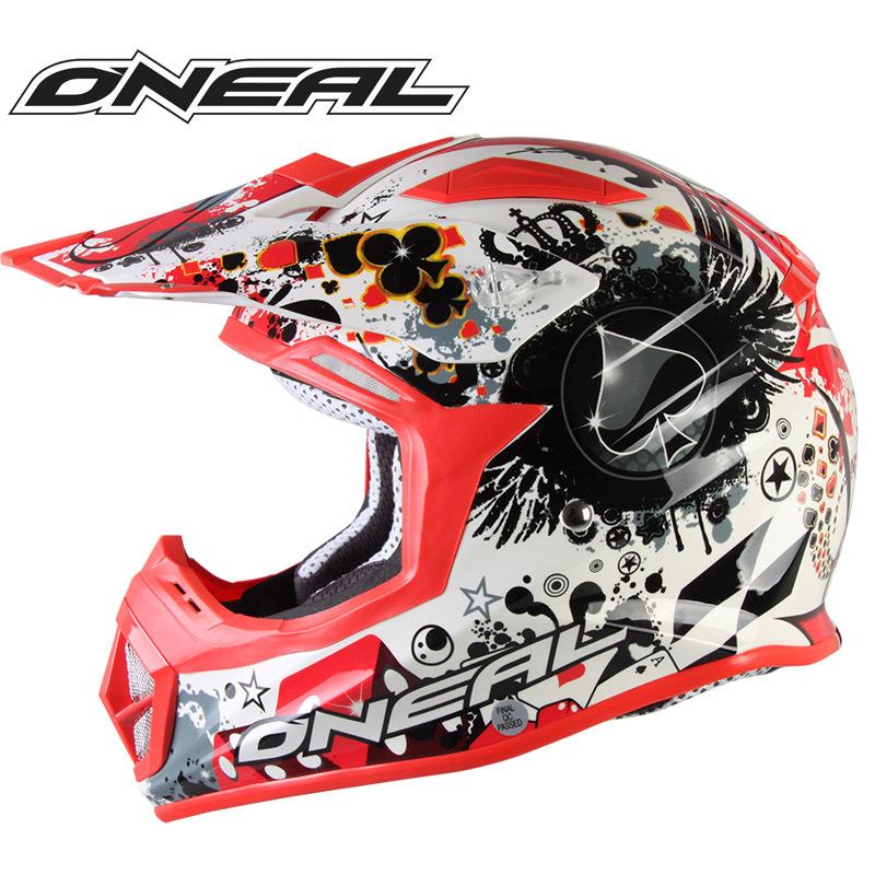 Original Oneal Motocross Helmet Fiberglass Professional Motorcycle ATV Dirt Bike Racing Helmet (ECE Approval)(China (Mainland))