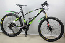 Fast shipping! light weight Mountain bicycle complete MTB bikes carbon fiber glossy complete bike Fasteam cheap selling!(China (Mainland))