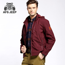 High quality Afs jeep 2016 the spring and autumn period and the new men outdoor leisure jacket, big yards men's short model